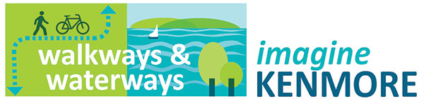 Imagine Kenmore Walkways and Waterways logo